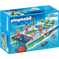 Glass-bottomed boat and underwater engine - Building Kit