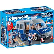 Police anton with barricades - Building Kit