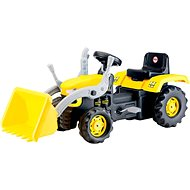 DOLU Large pedal tractor with an excavator