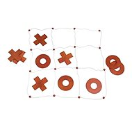 Woody Garden Noughts and Crosses - Outdoor Game