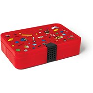LEGO Iconic Box with Compartments - Red - Storage Box