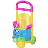 Let's Play Sand Tool Kit in a Colourful Trolley - Sand Tool Kit