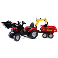 Case IH Puma 240CVX with Front and Rear Loader - Pedal Tractor
