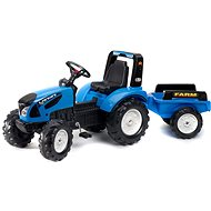 Landini with Steering Wheel - Pedal Tractor