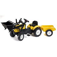 Constructor Tractor with Steering Wheel - Pedal Tractor