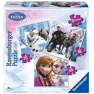 Ravensburger 072767 Disney Ice Kingdom Anna Elsa and their friends - Puzzle