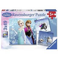 Ravensburger 92642 Disney Ice Kingdom: A Snow Adventure - Puzzle