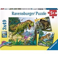 Ravensburger 93588 Dinosaurs and Time