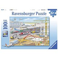 Ravensburger 106240 Airport Construction 100 pieces - Puzzle