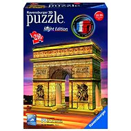 Ravensburger 3D 125227 Arc de Triomphe (Night Edition) - 3D puzzle