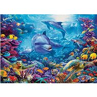 Ravensburger 198337 Dolphins At Play - Puzzle