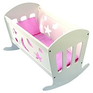 Cradle for dolls - Wooden Toy