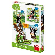 Little Mole in the Meadow 3-in-1 - Puzzle