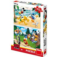 Mickey Playing Sports - Puzzle