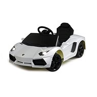 Jamara Lamborghini Aventador white - Children's electric car