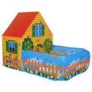 Tent House with Playpen - Children's tent