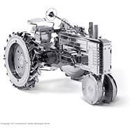 Metal Earth Farm Tractor - Metal Model