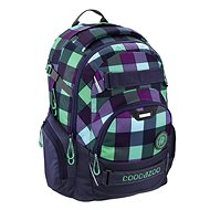 Coocazoo CarryLarry2 Green Purple District - School Backpack