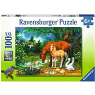 Ravensburger 108336 Mare and Foal