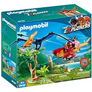 Playmobil 9430 Helicopter with Pterosaur - Building Kit