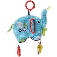 Fisher-Price Elephant with Activities - Baby Rattle & Teether