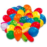 Amscan Coloured Balloons, 50 pieces