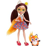 Enchantimals Doll Felicity Fox with Fox Cub - Doll
