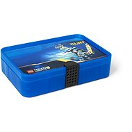 LEGO Nexo Knights sorting box with compartments – blue - Storage Box