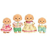 Sylvanian Families Toy Poodle Family - Figures