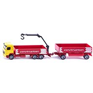 Siku Super - Truck for construction material with trailer - Metal Model