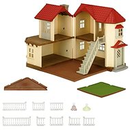Sylvanian Families City House with Lights Gift Set D - Game set
