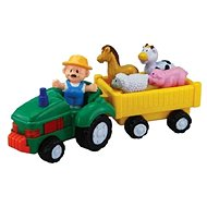 Farmer with Tractor - Figure Set