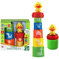 Stacking Cups with Duck