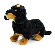 Rappa Sitting Dachshund - Plush Toy