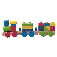 Woody Wooden folding freight train - two wagons - Train