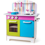Woody Kitchen Julia, striped - Children's Kitchen Set