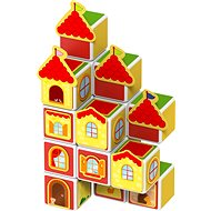 Magicube - Castles and Houses - Magnetic Building Set