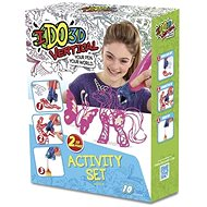 IDO3D Vertical: 2 pen set - pink and white