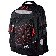 Jagr 68 black - Children's backpack