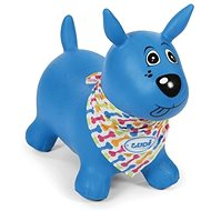 Ludi Jumping dog blue