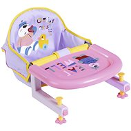 BABY born Dining Chair with Table Mount - Doll Accessory