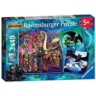 Ravensburger 080649 How to Train Your Dragon 3 - Puzzle