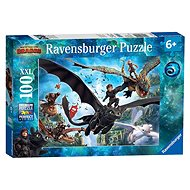 Ravensburger 109555 How to Train Your Dragon 3 - Puzzle