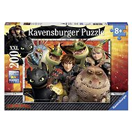 Ravensburger 128129 How to Train Your Dragon: Hiccup, Astrid and Dragons - Puzzle