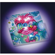 Trolls - make a glowing picture - DIY for Children