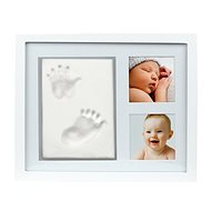 Pearhead Photo Frame for Hand and Foot Print, White - Photo Frame