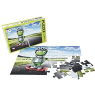 Alza Puzzle 40 Pieces - Alien Alien on Gyroboard