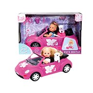 Simba Doll Evi with New Beetle Car