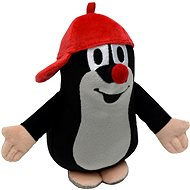 Mole with red cap 16cm - Plush Toy