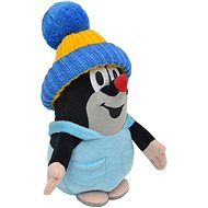 Little Mole in Pants and a Blue Beanie, 20cm - Plush Toy